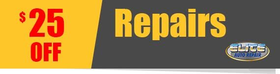25 off Repairs Coupon Elite Auto Repair Tempe AZ