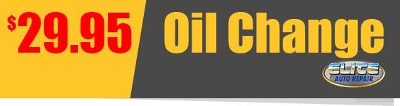 Oil Change Coupon Elite Auto RepairTempe AZ
