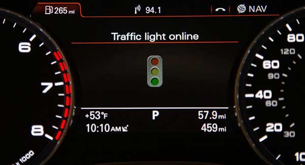Audi Traffic Light Recognition Could Be The Answer To Your Frustrations