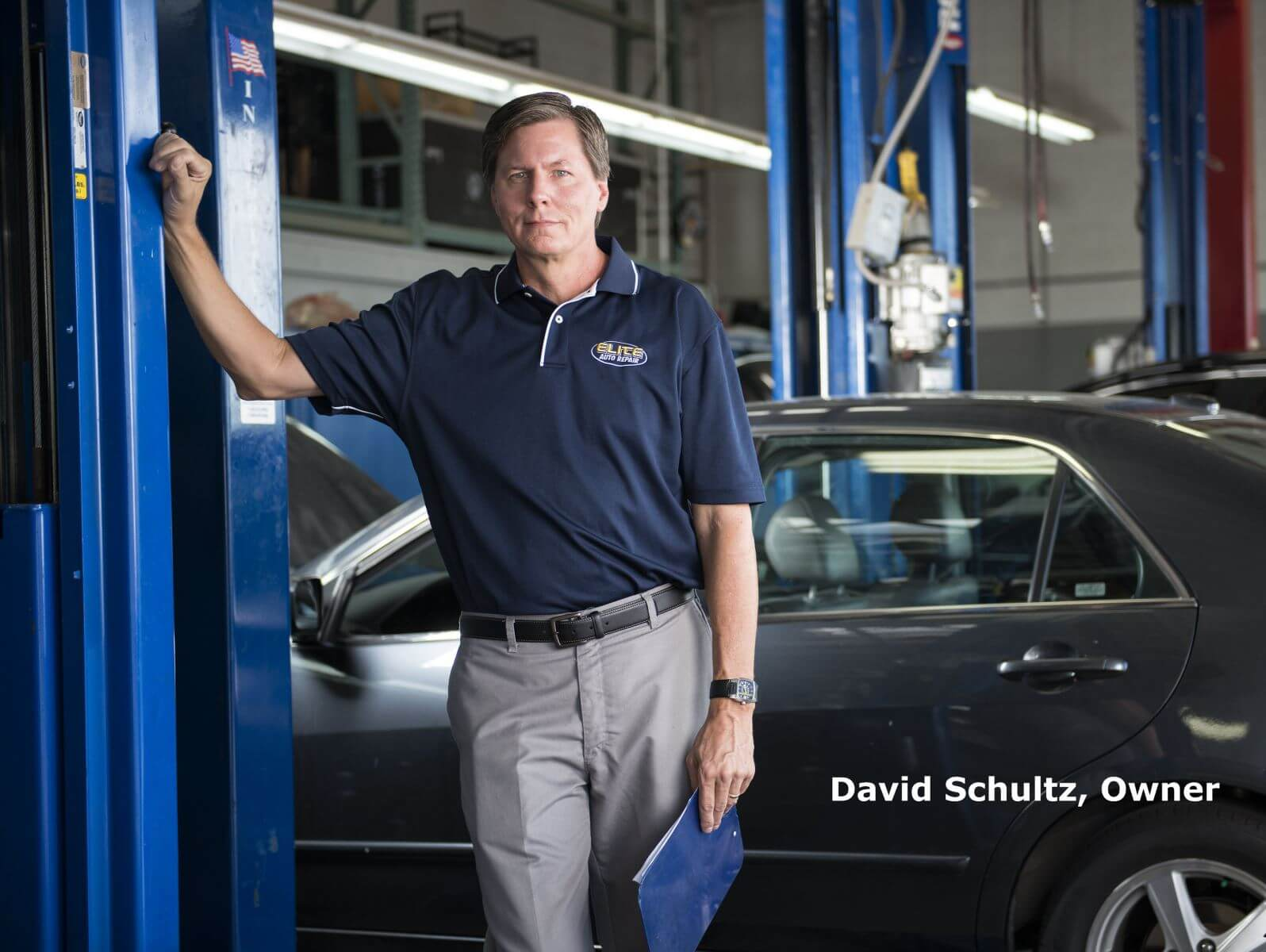 David Schultz Owner Elite Auto Repair Tempe AZ