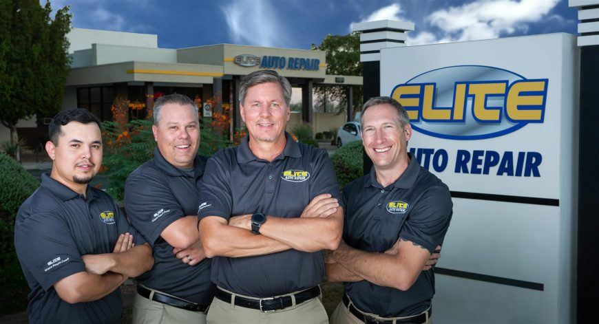 Elite Auto Repair Tempe AZ Team Members
