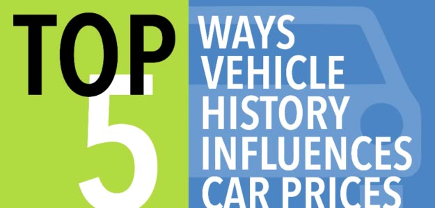 Top 5 Ways Car Prices are Affected by Vehicle History