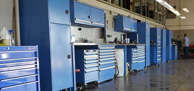 Shop Toolboxes- Elite Auto Repair Tempe